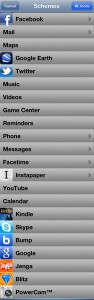 Speed U:アプリ登録画面